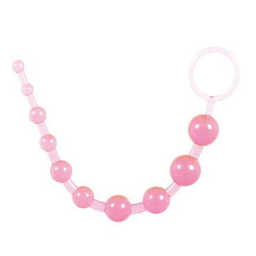 Toy Joy Thai Beads, розовая Анальная цепочка анальная цепочка sextoy зеленая