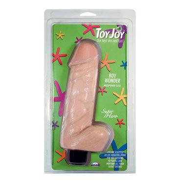 Toy Joy Boy Wonder 20 см, телесный Реалистичный вибратор анально вагинальные вибраторы toy joy