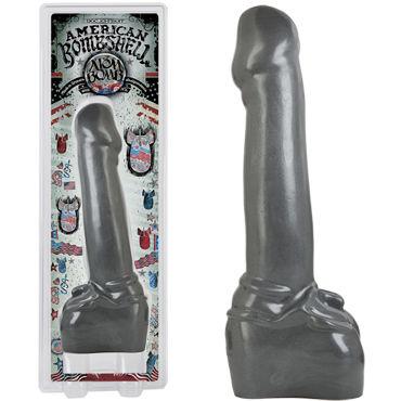 Doc Johnson American Bombshell Atom Bomb Реалистичный фаллоимитатор вибратор sex products 1 40 leten av leten wand massager attachment