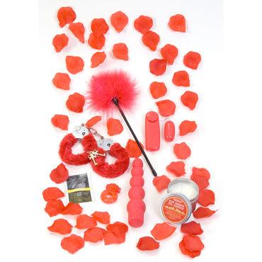 Toy Joy Red Romance Gift Set Подарочный набор оригинальный подарок high power 1000mw laser pointer flashlight red pen