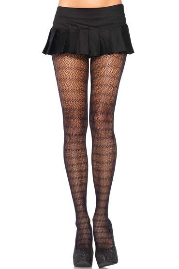 Leg Avenue колготки С ажурным орнаментом leg avenue заколка для волос с якорем 2 штуки