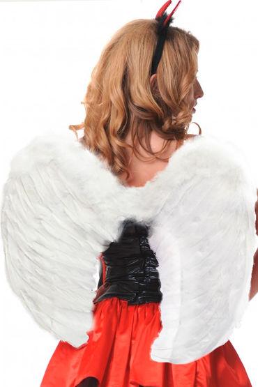 Le Frivole крылья, белые Закругленные, 60х50 см shots toys nipple sticker butterfly фиолетовые пэстисы в форме бабочек