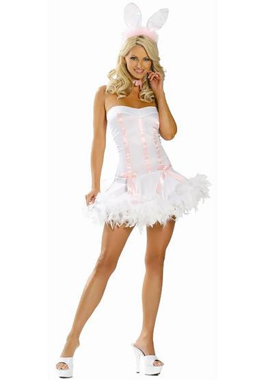 Le Frivole Пасхальный Кролик Игривое мини-платье и ушки игровой костюм le frivole costumes доктор любовь s m