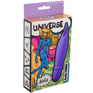 Lola Universe Gentle Thorn, фиолетовый Мини-вибратор с ушком на конце lola toys the princess and the pea розовый многофункциональный вибратор с подвижным стимулятором клитора