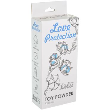 Lola Love Protection Toy Powder Classic, 30 гр Пудра для игрушек классическая sexus funny five вибратор оранжевый на присоске 5 режимов вибрации