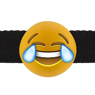 Shots Laughing out Loud Emoji, желтый Кляп со смеющимся смайлом shaki секс игрушки для взрослых кольцо для мужчин