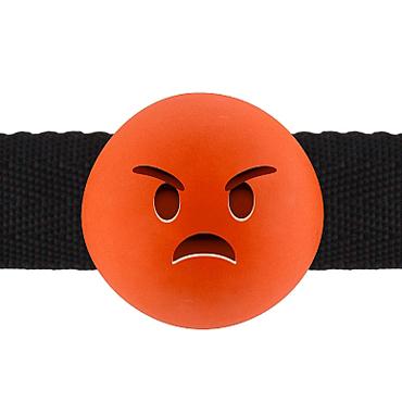 Shots Mad Emoji, оранжевый Кляп с безумным смайлом диванная подушка getuback emoji si020