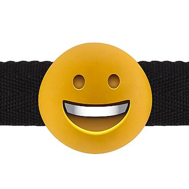 Shots Smiley Emoji, желтый Кляп с эмоцией sitabella кляп красный для женщин и мужчин