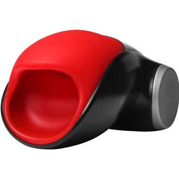 Fun Factory Cobra Libre II, черно-красный Инновационный перезаряжаемый мастурбатор с вибрацией fun factory joupie красный длинный вибратор с гибкой головкой