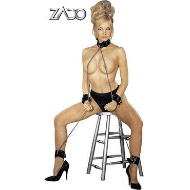 Zado All Over Fessel Комплект BDSM аксессуаров zado кандалы для ног кожаные