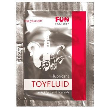 Fun Factory Toyfluid, 3мл Увлажняющий лубрикант для использования с игрушками flutschi toy gel 50 мл лубрикант для применения с игрушками