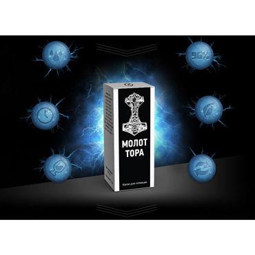 Молот Тора, 10 мл Возбуждающий напиток-капли vibe therapy nirvana фиолетовый abec