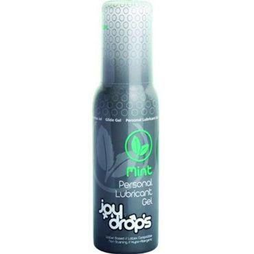 JoyDrops Mint, 100 мл Со вкусом мяты joydrops enhancement 5 мл возбуждающая смазка для женщин саше
