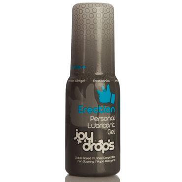 JoyDrops Erection, 50 мл Возбуждающая смазка для мужчин безремневой страпон с вибрацией strap u vibrating strapless silicone strap on dildo фиолетовый