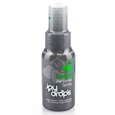 JoyDrops Deloy Spray, 50 мл Пролонгирующий спрей для мужчин joydrops enhancement 5 мл возбуждающая смазка для женщин саше