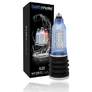 Bathmate Hydromax X20, синяя Модернизированная гидропомпа (размер S) насос ручной для помпы mega vakuum