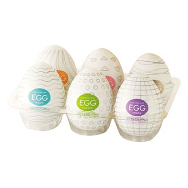 Tenga Eggs Набор одноразовых мастурбаторов импорт из японии tenga мужской мастурбатор секс игрушки для взрослых