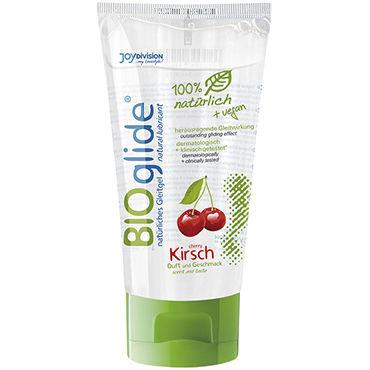 Bioglide Cherry, 80 мл Натуральная смазка со вкусом вишни универсальная смазка на водной основе aquaglide 200 мл