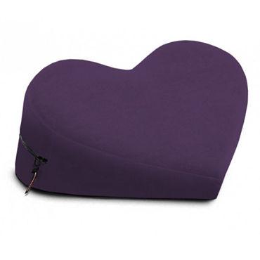 Liberator Heart Wedge, фиолетовая Подушка для секса в форме сердца liberator axis бордовая подушка для секса с креплением для hitachi magic wand