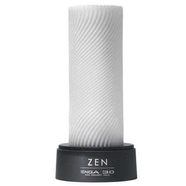 Tenga 3D Zen Многоразовый мастурбатор с уголками topco caesar love machine секс машина для искушенных любовников