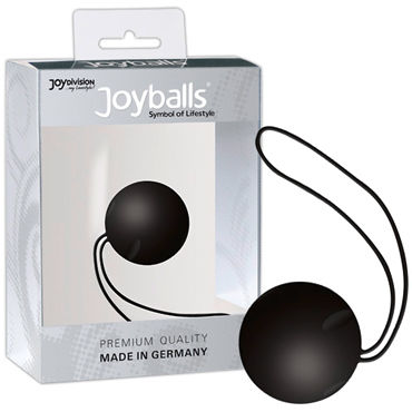 Joy Division Joyballs Trend, черный Вагинальный шарик joy division joyballs trend черный вагинальный шарик