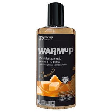 Joydivision WARMup 150мл, карамель Массажное масло с согревающим эффектом joyballs анальный стимулятор wave длинный черный