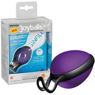 JoyDivision Joyballs Secret Single, фиолетовый Шарик со смещенным центром тяжести joydivision thats all you need 100мл гель смазка на силиконовой основе