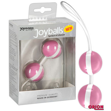 Joy Division Joyballs Trend, розово-белые Вагинальные шарики pipedream inflatable love lounger секс машина с надувной кушеткой