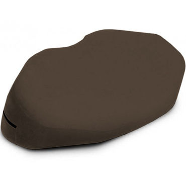 Liberator Retail Arche Wedge, кофейная Подушка для любви из вельвета liberator lovearts pillow кофейная подушка для любви