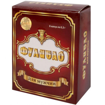 Фулибао, 6шт Профилактический препарат для мужчин лучшие смазки для секса shunga