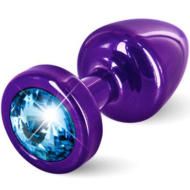 Diogol Anni, фиолетовая Втулка с голубым кристаллом Swarovski diogol anni ano t2 красная
