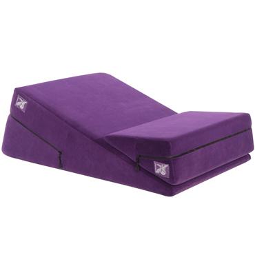 Liberator Wedge/Ramp Combo, фиолетовы Набор подушек для любви 4sexdream пробка металлическая золотая с красным хвостиком