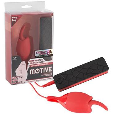 Orion Motive, красный Вибратор с язычком вибратор на сосок с грушей красный