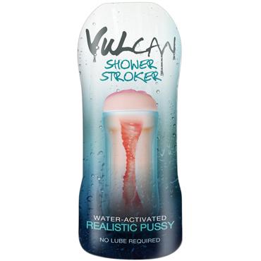 Topco Vulcan Shower Stroker, телесный Мастурбатор с эффектом смазки ideal vulcan ripe vagina вибрирующий мастурбатор вагина