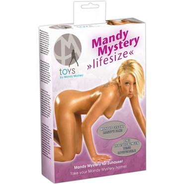 Orion Mandy Mystery, телесная Секс кукла с лицом Mandy Mystery игрушка для анального секса loho 10