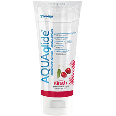 Aquaglide Cherry, 100 мл Лубрикант на водной основе с ароматом вишни joydivision soft tampons normal 50шт мягкие тампоны