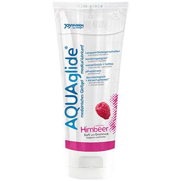 Aquaglide Raspberry, 100 мл Лубрикант на водной основе с ароматом малины универсальная смазка на водной основе aquaglide 200 мл
