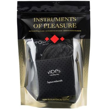 Bijoux Набор Instruments of Pleasure  красный Набор для страсных игр hitachi magic wand синяя прямая насадка для вибромассажера