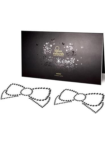 Bijoux Mimi Bow, черное Украшение для груди цена и фото