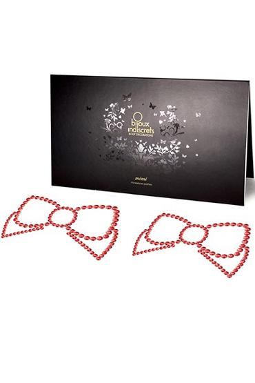 Bijoux Mimi Bow, красное Украшение для груди цена и фото