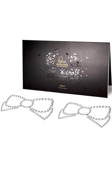 где купить Bijoux Mimi Bow, серебристое Украшение для груди по лучшей цене