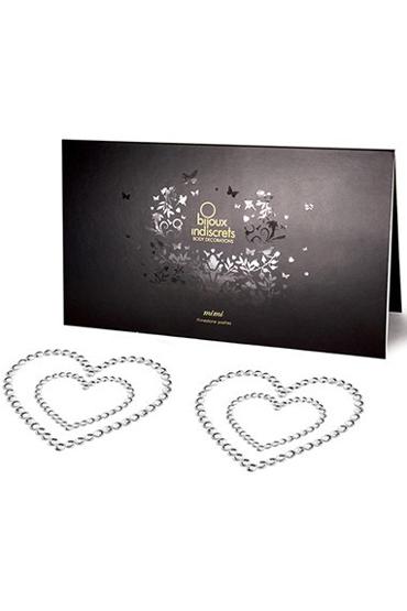 где купить Bijoux Mimi Heart, серебристое Украшение для груди по лучшей цене