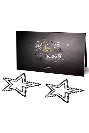 Bijoux Mimi Star, черное Украшение для груди цена и фото