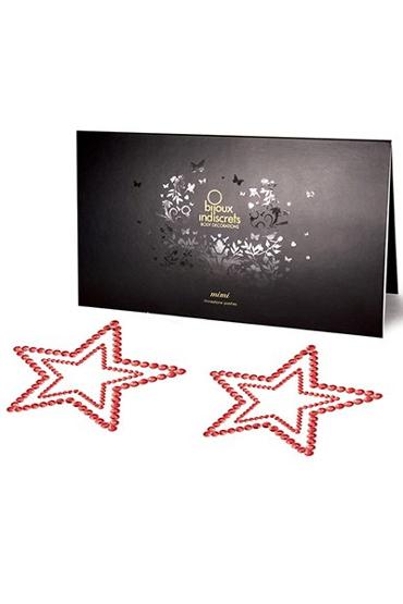 Bijoux Mimi Star, красное Украшение для груди цена и фото