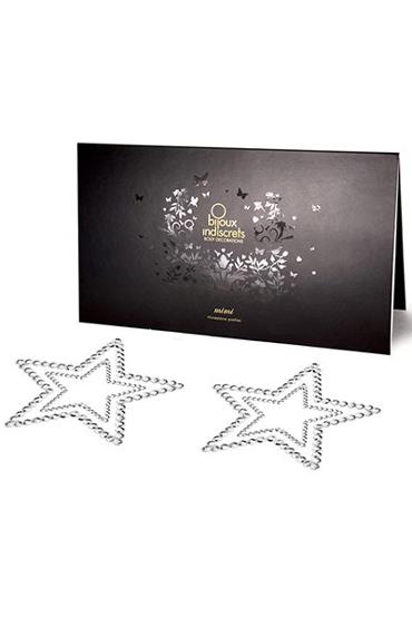 Bijoux Mimi Star, серебристое Украшение для груди цена