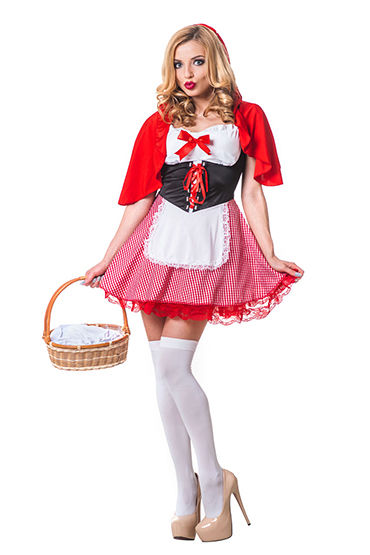 Le Frivole Красная Шапочка Платье с накидкой костюм сексуальной прислуги le frivole costumes костюм сексуальной прислуги