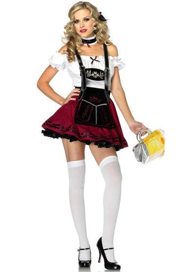 Le Frivole Баварка паба Рубашка, юбочка и украшение на шею игровой костюм le frivole costumes доктор любовь s m