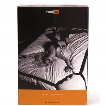 Pornhub 8 Point UnderBed Kit Набор для фиксации к кровати