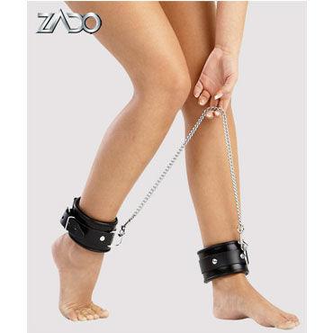 Zado кандалы для ног Кожаные zado leather whip красная плетка кожаная