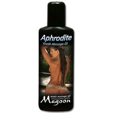 Magoon Aphrodite, 100 мл Ароматизированное массажное масло вибромассажер для стимуляции точки g lealso rose purple красно фиолетовый